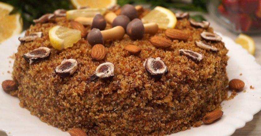 Пісний торт подивитися рецепт