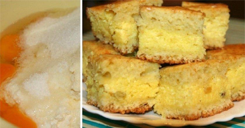 Пиріг з сирною начинкою подивитися рецепт