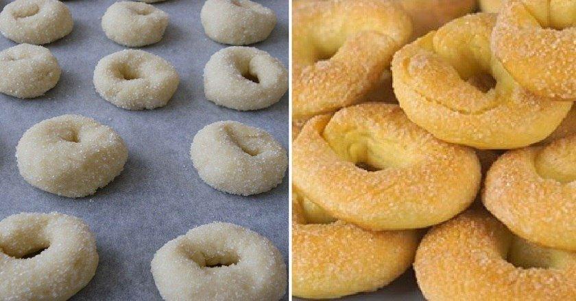 Цукрове печиво «Колечка» подивитися рецепт