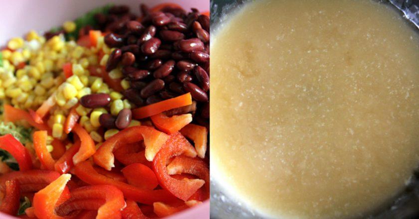 М'ясний салат подивитися рецепт