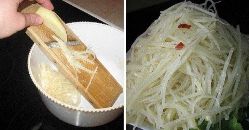 Картопля по-корейськи подивитися рецепт