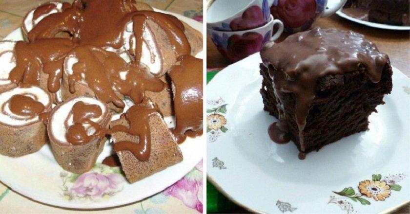 Шоколадний кисіль подивитися рецепт