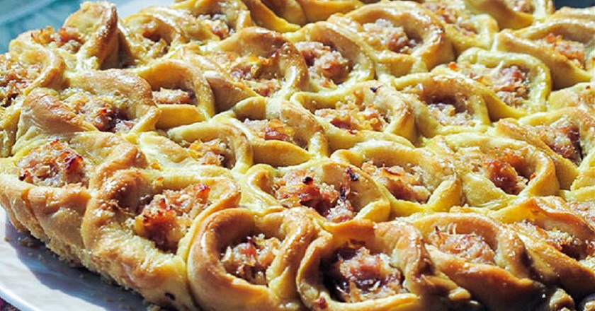 Пиріг з квашеною капустою подивитися рецепт