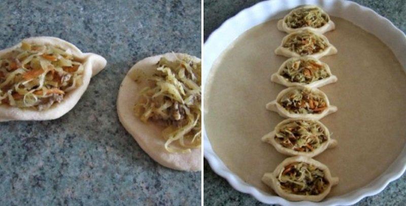 Пиріг з квашеною капустою