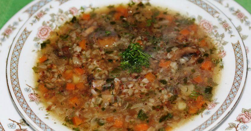 Гречаний суп подивитися рецепт