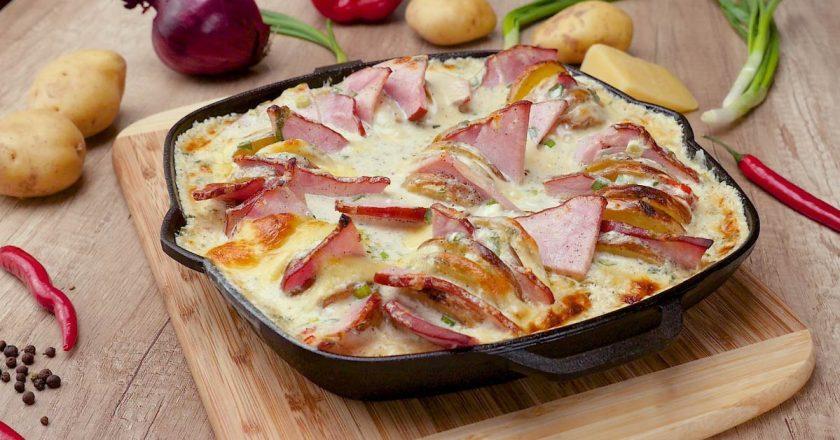 Сирна картопля подивитися рецепт
