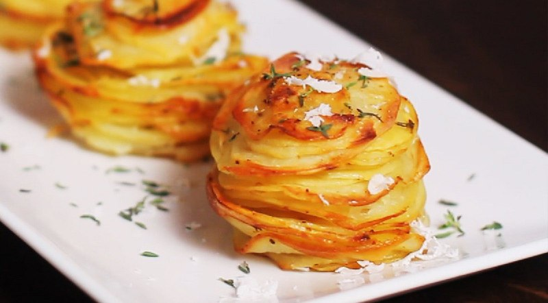 Картопля в формочках