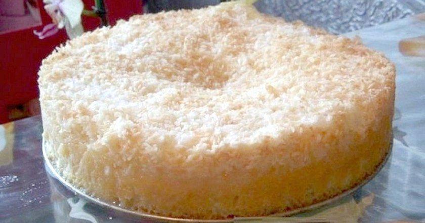 Кокосовий пиріг подивитися рецепт