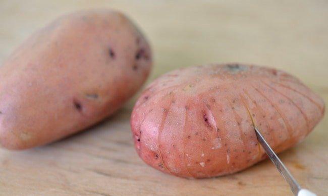 Картопля у фользі