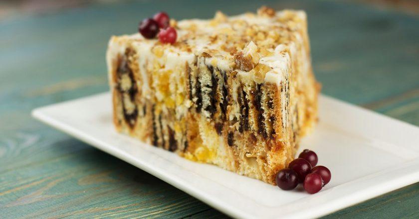 Торт «Трухлявий пень» подивитися рецепт