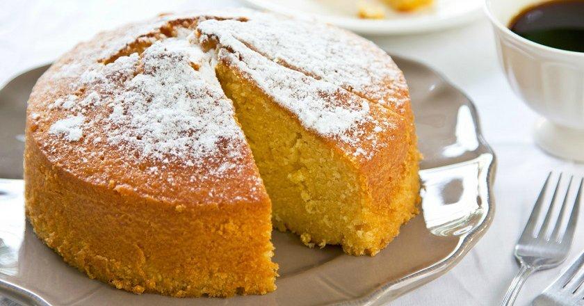 Пісний апельсиновий кекс