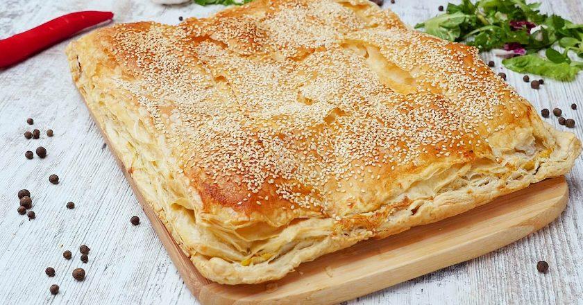 Сирний пиріг по-грецьки подивитися рецепт