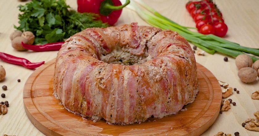 Великодній м'ясний хлібець подивитися рецепт