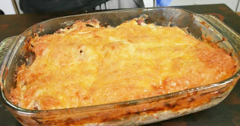 Свинина з картоплею в духовці подивитися рецепт