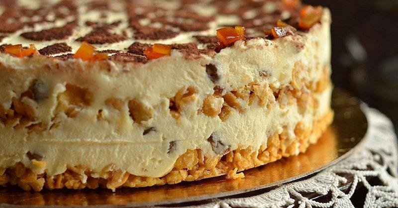 Торт з сиру без випічки