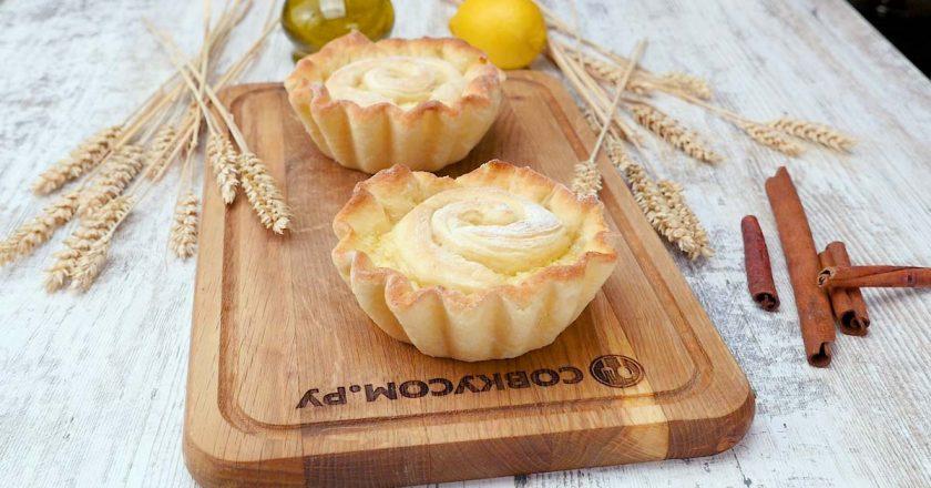 Булочки з лимонною начинкою