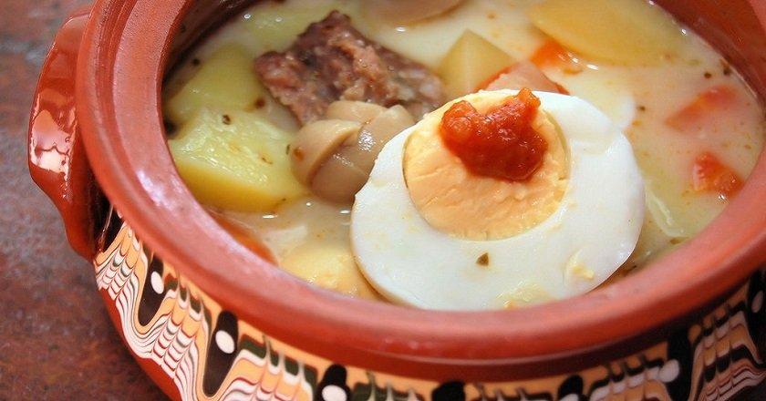 Суп «Журек» подивитися рецепт