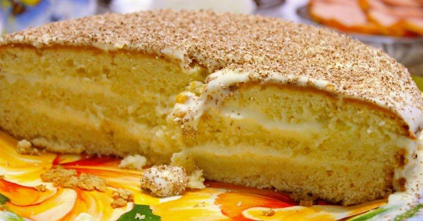 Торт «Ростовський» подивитися рецепт