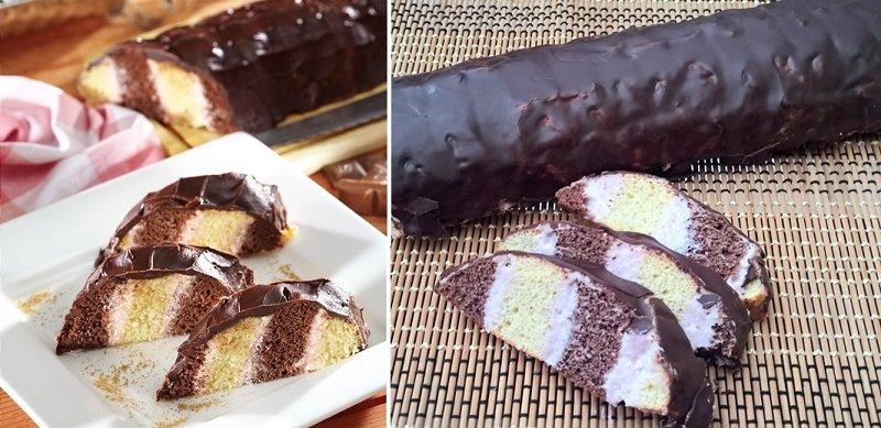 Торт з кексів