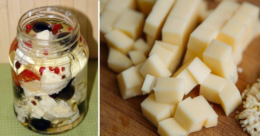 Маринований сир подивитися рецепт