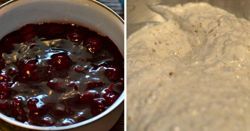 Печиво з вишнею подивитися рецепт
