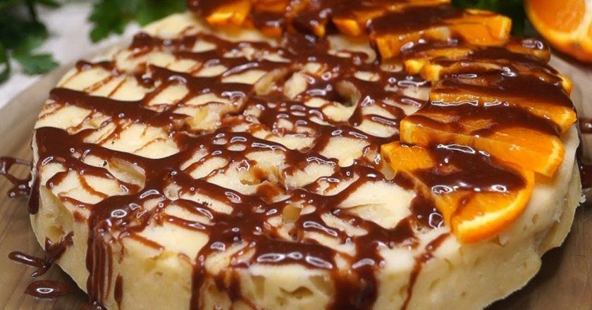 Швидкий пиріг з яблуками подивитися рецепт