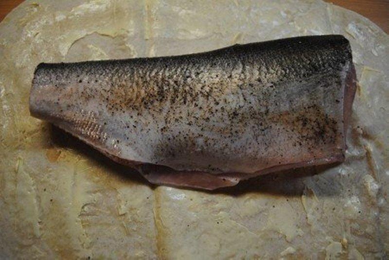Риба, запечена в лаваші