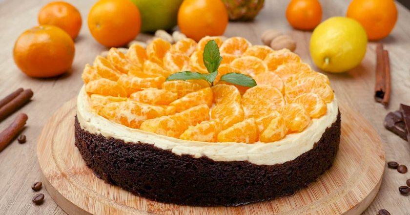 Чізкейк з пряними мандаринами подивитися рецепт