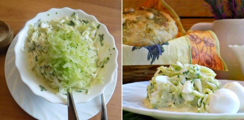 Салат з зеленою редькою