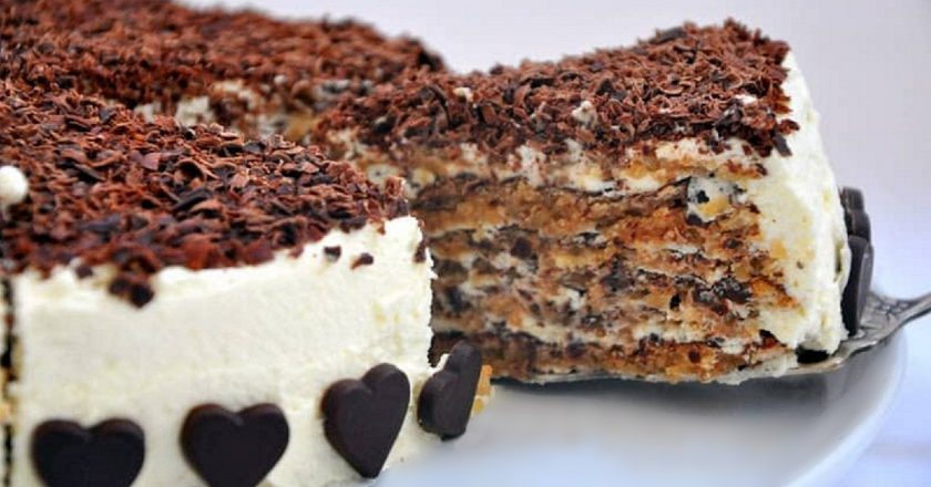 Горіхово-шоколадний торт з Італії