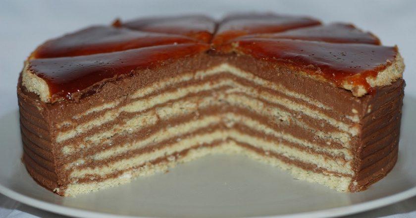 Торт «Добош» подивитися рецепт
