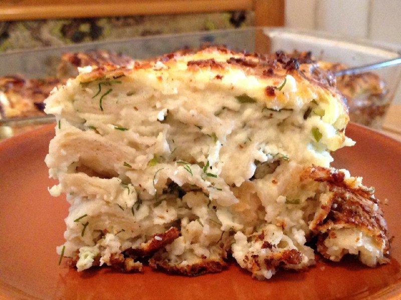 Рваний пиріг з лаваша