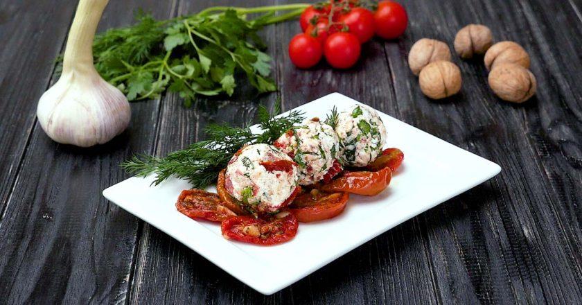 Закуска з в'яленими томатами подивитися рецепт