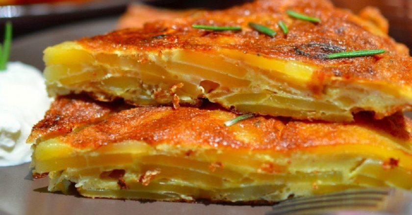 Іспанська тортілья з розмарином подивитися рецепт