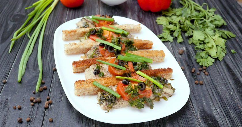 Риба, тушкована з овочами подивитися рецепт
