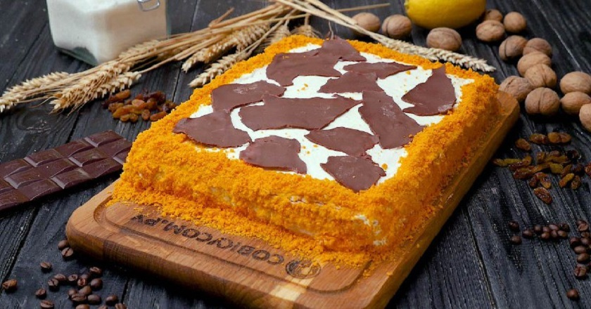 Торт «Цукру» подивитися рецепт