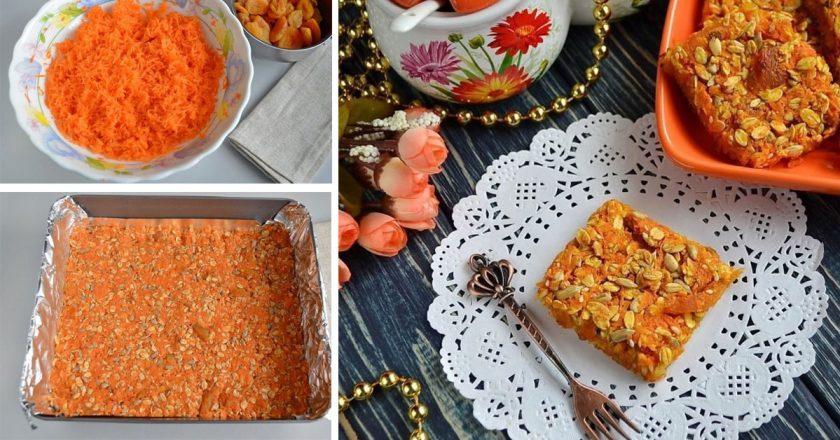 Морквяний десерт подивитися рецепт