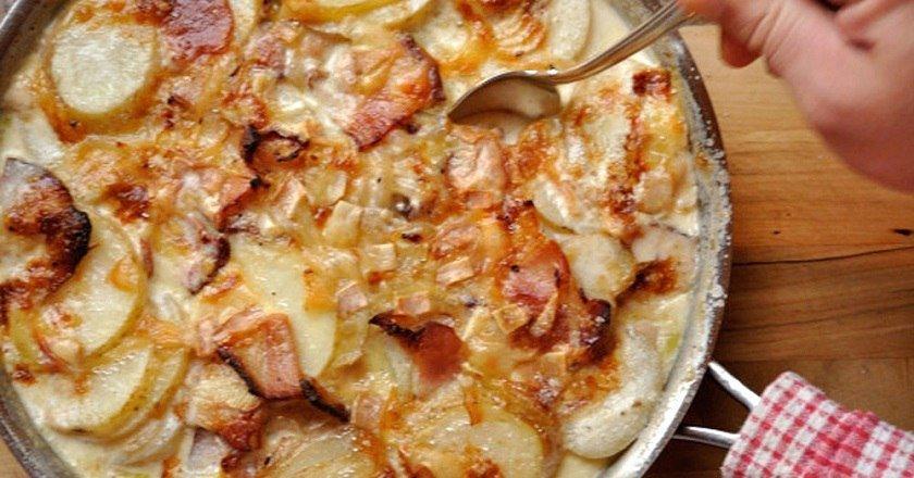 Запіканка з картоплі подивитися рецепт