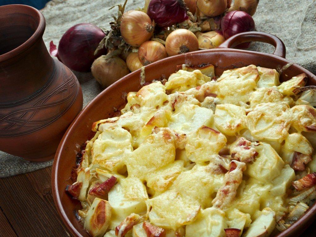 Запіканка з картоплі