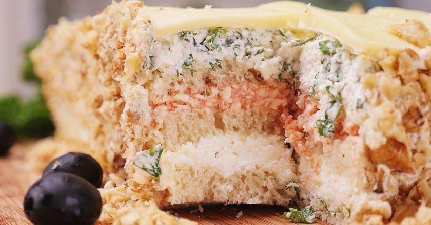 Сирно-сирний пиріг подивитися рецепт