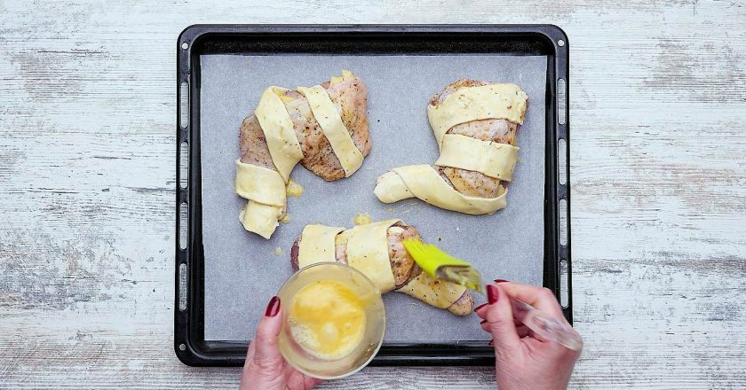 Стегенця в листковому тісті як приготувати, покрокові рецепти від «Це Смак»