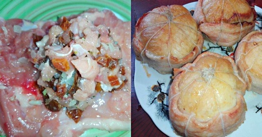 Курячі колобки з грибами подивитися рецепт