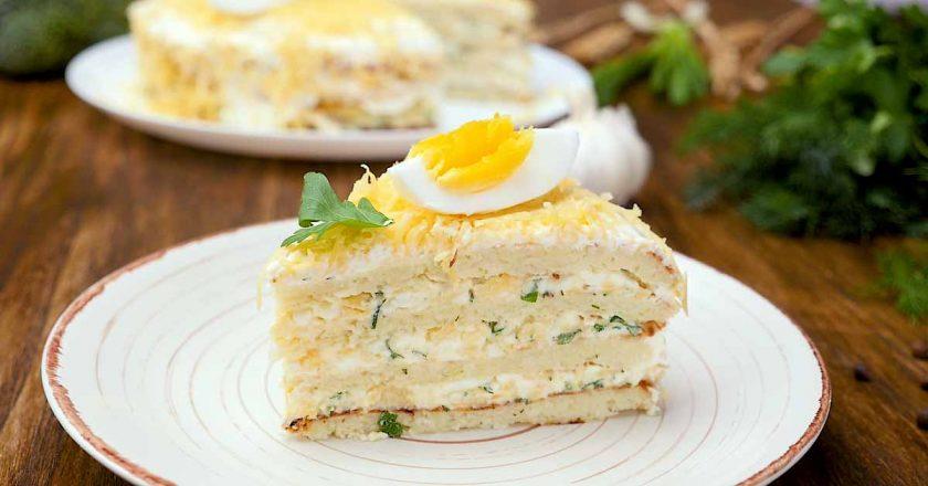 Торт з капустою подивитися рецепт