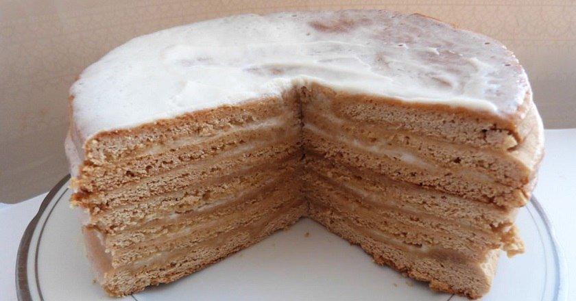 Торт за 15 хвилин подивитися рецепт