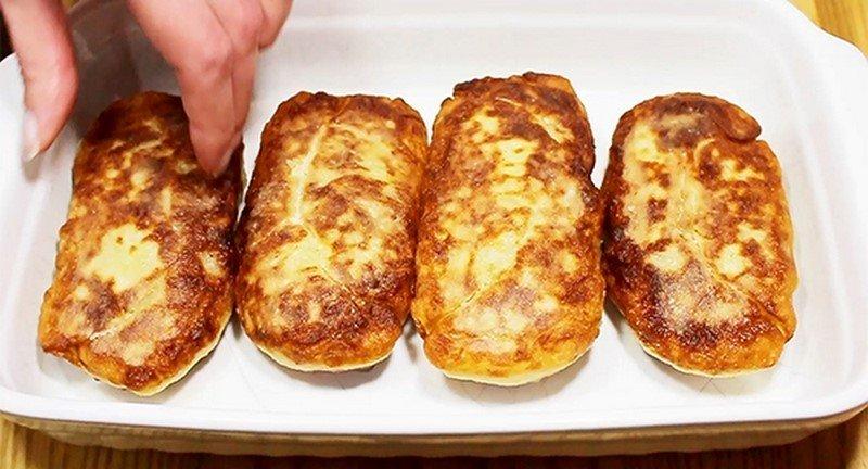 Картопляні рулети з начинкою