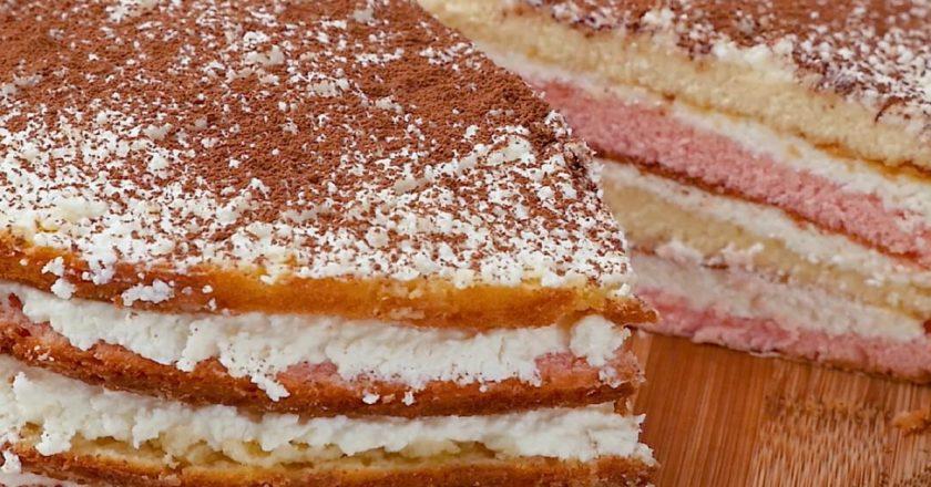 Кисільний торт подивитися рецепт
