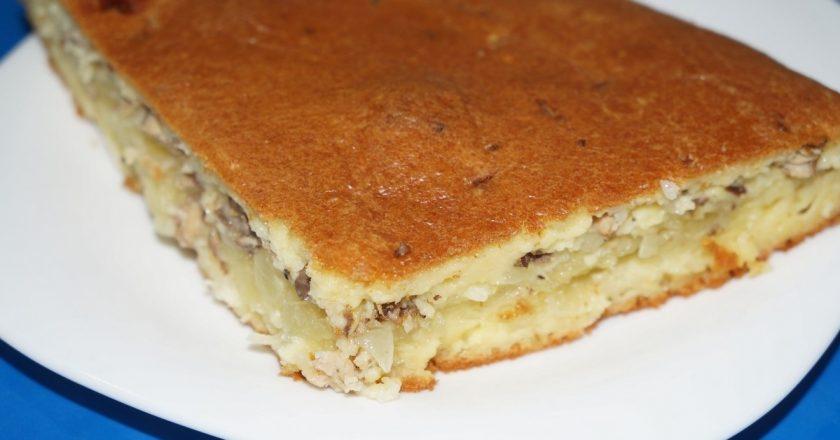 Пиріг «Балтійський берег» подивитися рецепт