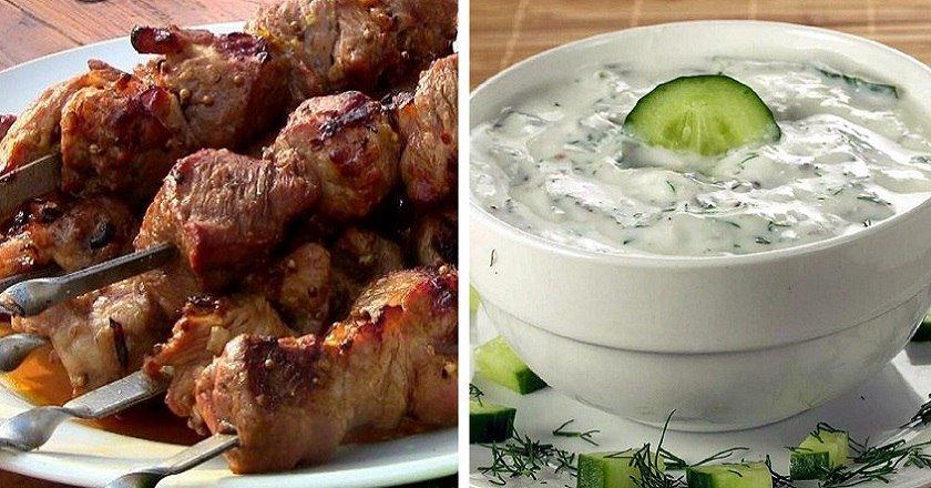Білий соус для шашлику як приготувати, покрокові рецепти від «Це Смак»