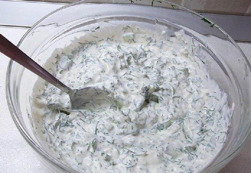 Білий соус для шашлику