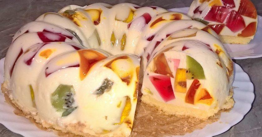 Торт «Бите скло» подивитися рецепт